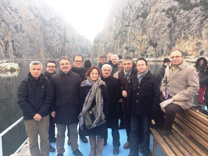 Büyükşehir Bürokratları Vezirköprü'de