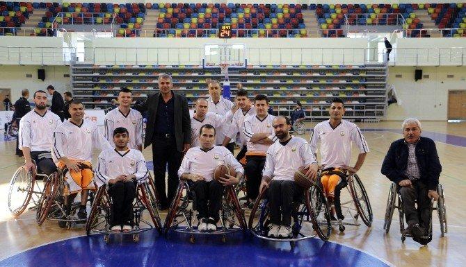 Şanlıurfa Engelli Basketbol Takımı Farklı Kazandı