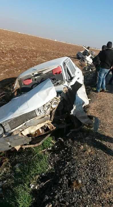 Akçakale'de zincirleme kaza: 2 ölü, 7 yaralı