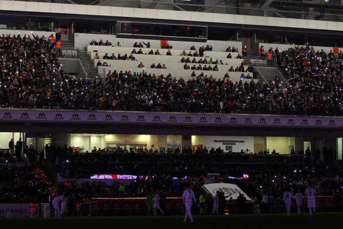 Beşiktaş: 0 - Torku Konyaspor: 0 (İlk yarı)