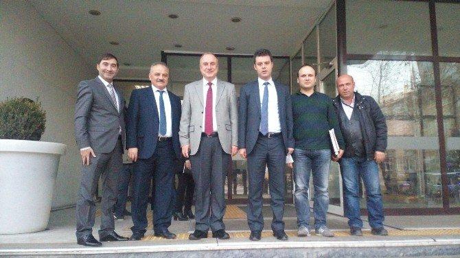Teski Ve Çorlu Belediyesi Arasında Yatırım Değerlendirme Toplantısı