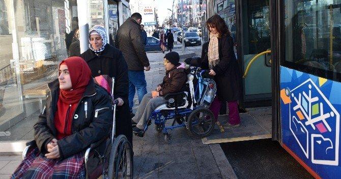 Erzurum'da Engelliler İçin Toplu Ulaşımda Yeni Dönem