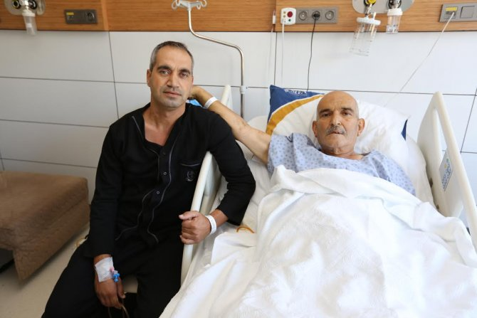 Oğlundan nakledilen karaciğerle hayat buldu