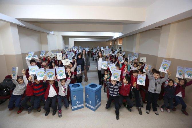 Yenimahalle'de ambalaj atıkları geri kazanım projesi devam ediyor