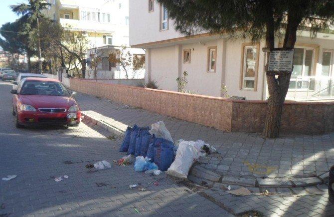 Burhaniye'de Belediyeden Çöp Uyarısı