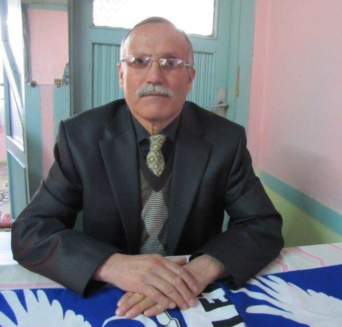 Mehmet Türk, 28 Yıldır Millet Partisi'nin İlçe Başkanı