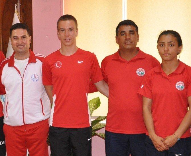 Adana TOHM Sporcularına Rekor Dayanmıyor