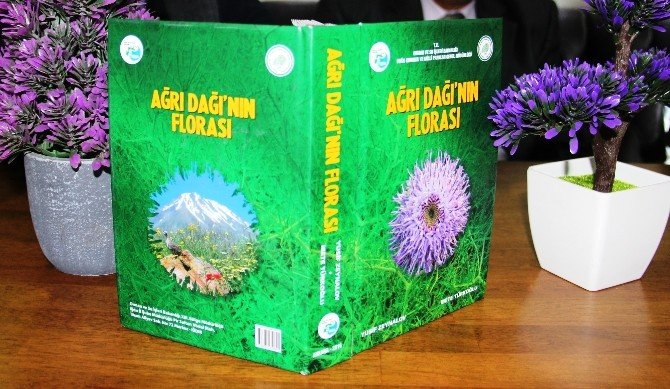 Ağrı Dağı'nın Florası Kitaplaştırıldı