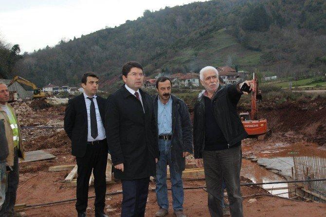 """Milletvekili Yılmaz Tunç: """"Kurucaşile İçin Dağları Deliyoruz"""""""