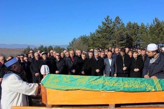 AK Parti Kastamonu Milletvekili Çelik'in Baba Acısı