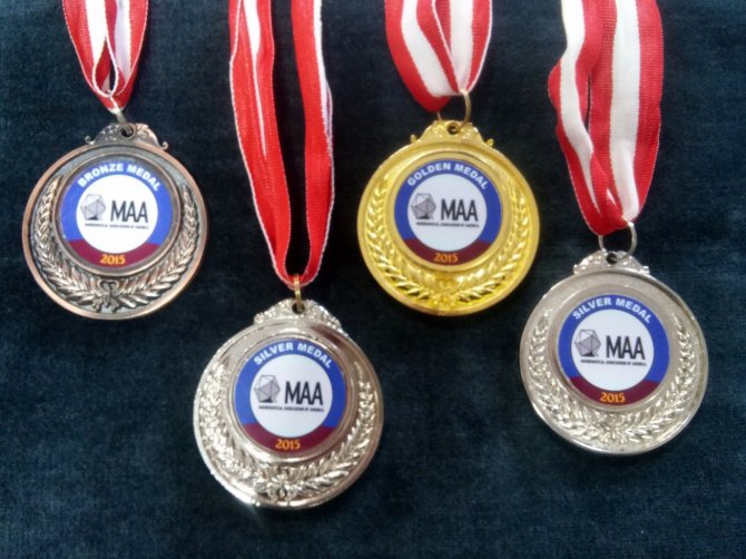 Şanlıurfa Çağlayan Okulu Uluslararası olimpiyatta 4 madalya aldı