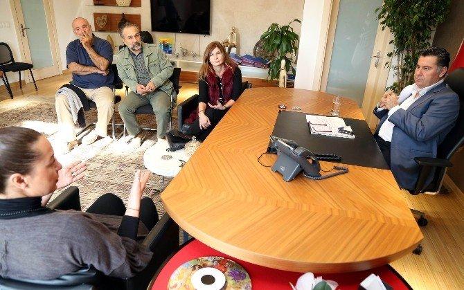 Bodrum Belediye Başkanı Çarşı'yı İnceledi