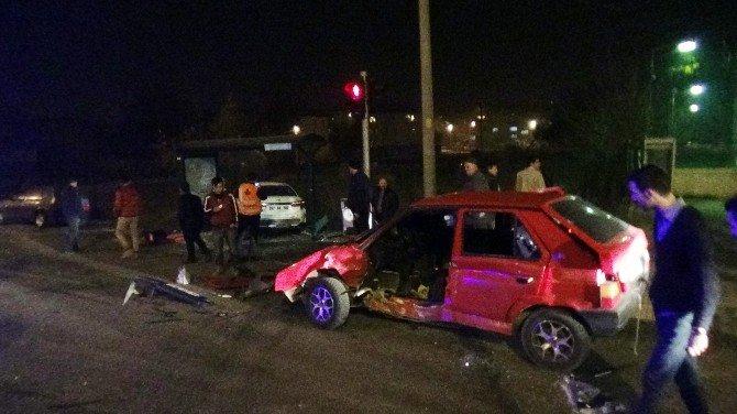 Bolu'da Trafik Kazası; 7 Yaralı