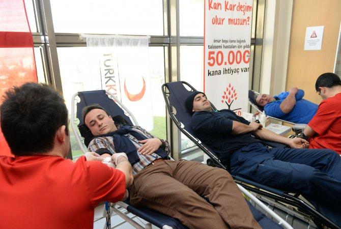 Osmangazi'den, hemofili ve talasemi hastalarına destek