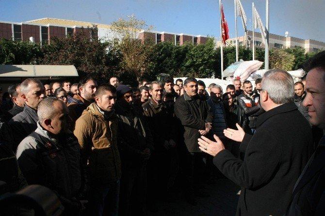 """Vali Karaloğlu: """"İş Yeri Sahiplerinin Ciddi Zararı Var"""""""