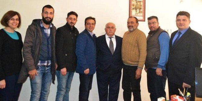 Nazilli Gazeteciler Derneği'nde Başkan Çetiner Güven Tazeledi