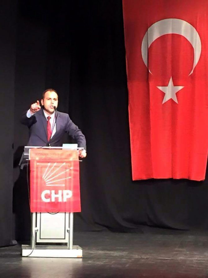 CHP İzmir İl Gençlik Kolları Başkanı Sarıküse oldu