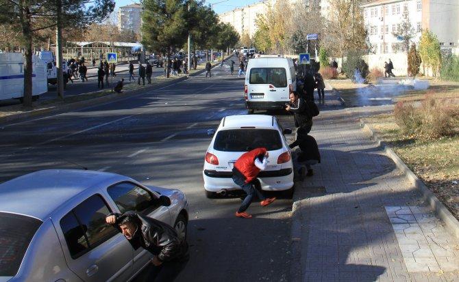 Roboski ve Sur protestosunda olaylar çıktı