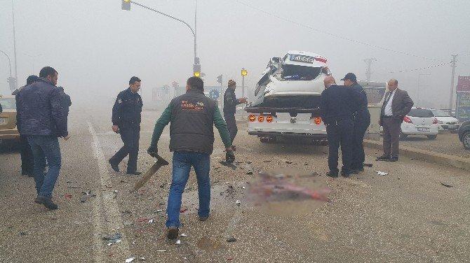 Düzce'de Sis Kazayı Beraberinde Getirdi
