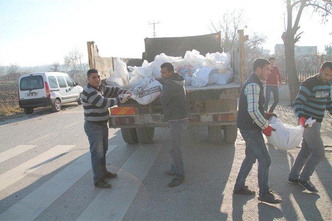 Edirne Belediyesi Kış Hazırlıklarına Başladı