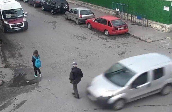 Eskişehir'de Trafik Kazaları MOBESE'de