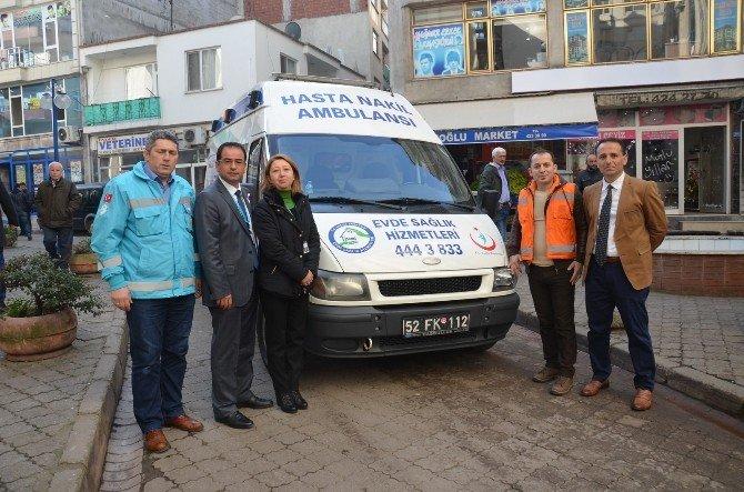 'Evde Sağlık Hizmet Birimi' Hizmete Başladı