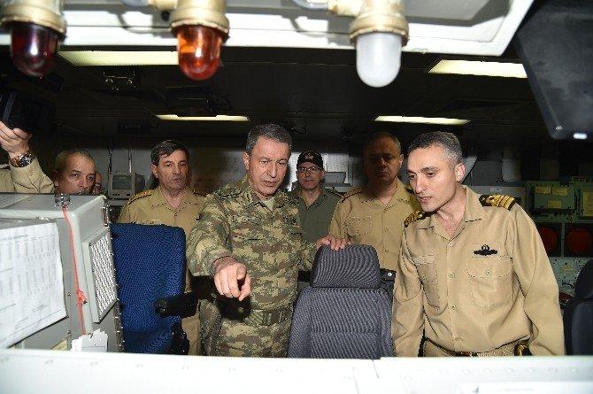 Genelkurmay Başkanı Orgenaral Akar, Kocaeli Ve Gölcük'teki Birliklerde İnceleme Ve Denetlemede Bulundu