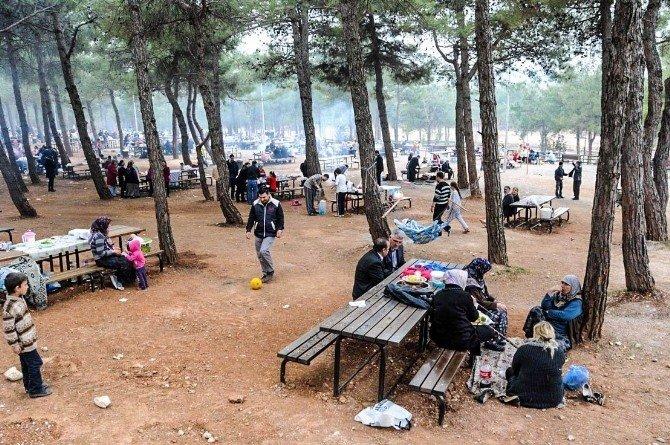 Dülük Tabiat Parkı Yüz Binlerce Konuk Ağırladı