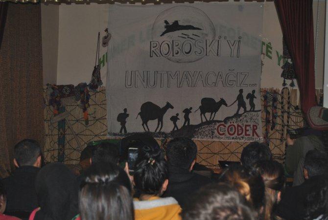 Üniversite öğrencileri Uluderede ölenler anısına tiyatro sahneledi