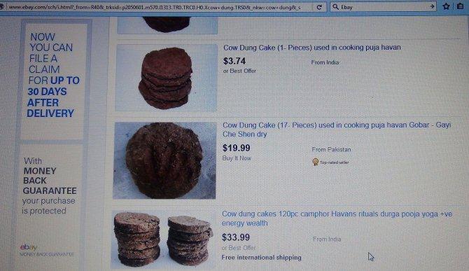 Hindistan'da patlayan online tezek satışları, hediye paketinde isteniyor