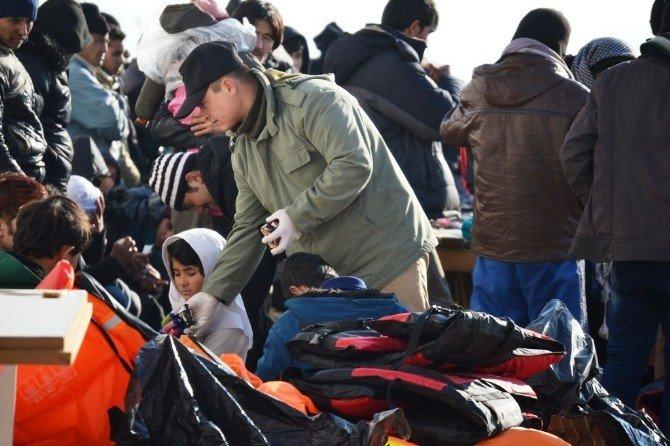 123 Göçmen Ölümden Son Anda Kurtarıldı