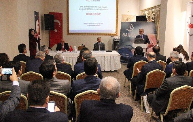 Bakka Kalkınma Kurulu Toplantısı Safranbolu'da Yapıldı