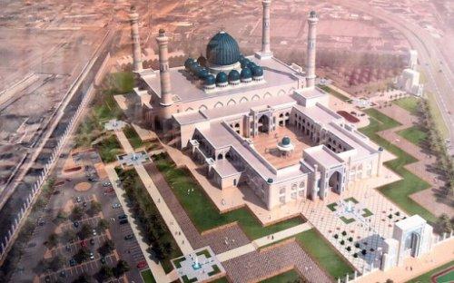 Katar'ın sermayesi ile Orta Asya'nın en büyük camisi kuruluyor