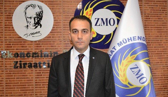 Ziraat Mühendisleri Odası İl Başkanı Ali Koç Seçildi