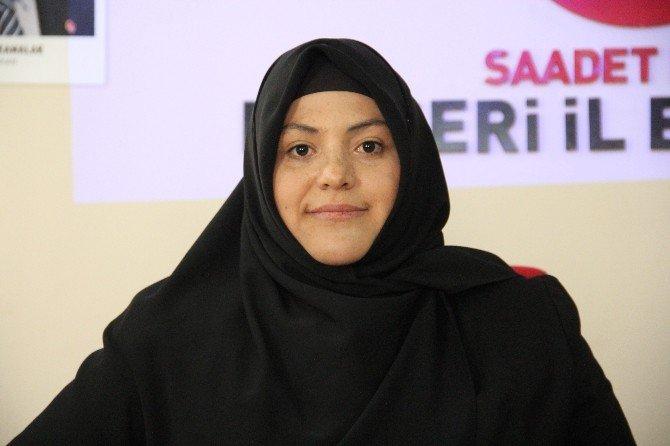 Saadet Partisi Kadın Gençlik Kolları Başkanı Sümeyye Olgun: