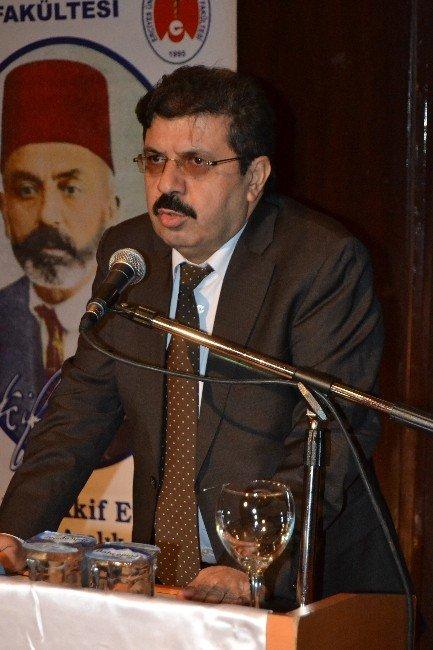 ERÜ Veteriner Fakültesi Mehmet Akif Ersoy'u Andı