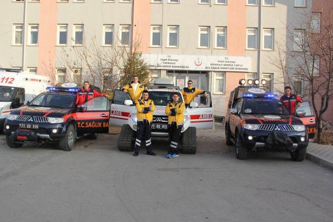 Sağlık ekipleri kışa hazır