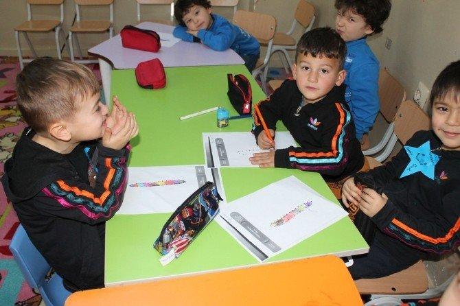 Anasınıfı Öğrencileri Okulda Kur'an Öğreniyor