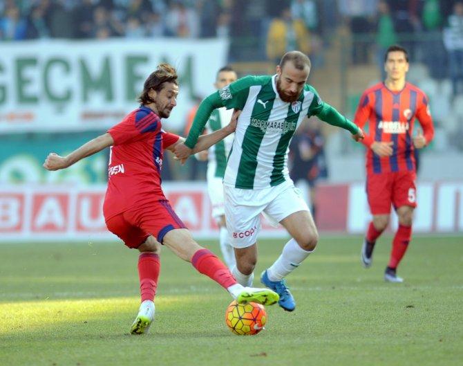 Bursasporlu oyuncuların Timsah Arena heyecanı