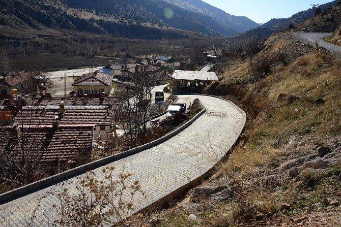 Doğanşehir'in, Sokakları Düzenleniyor