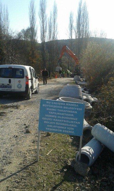 Altı Mahalleye Kanalizasyon Müjdesi
