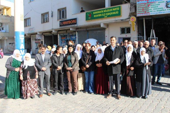 Nusaybin'de 'Roboski' protestosu