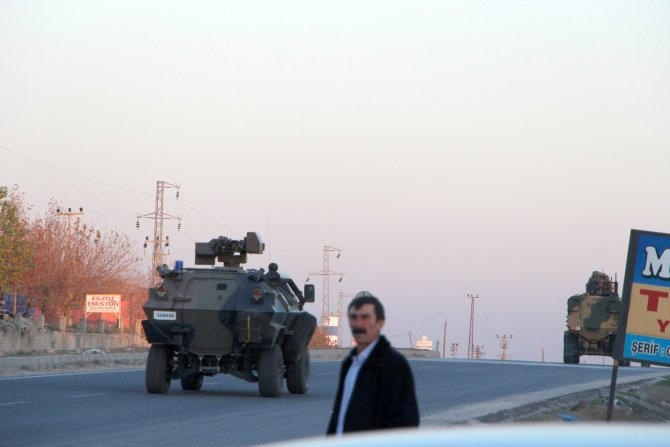 Cizre'ye asker sevkiyatı yapıldı