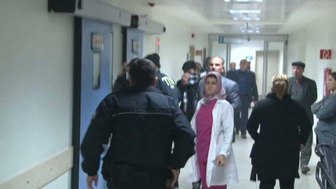 Mersin'de emniyet mensuplarına ateş açıldı: 1 polis yaralı