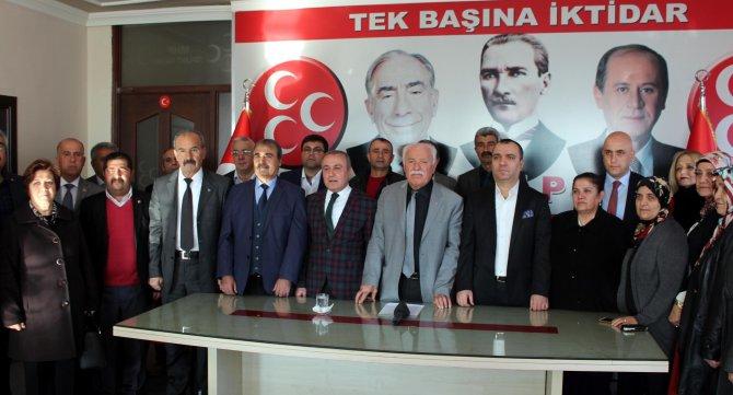 MHP Malatya il teşkilatından Bahçeli'ye destek