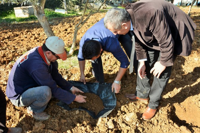 Yatağanlı çiftçilere modern tarım uygulamaları anlatıldı