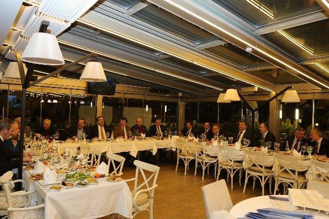 Oda Ve Borsa Başkanları Edremit'te Buluştu