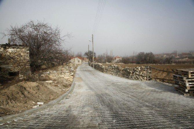 Odunpazarı'ndan Ayvacık'a 5 Bin 850 Metrekare Kilittaş