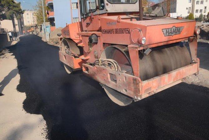 Mehmet Akif Ersoy Mahallesi asfaltlanıyor