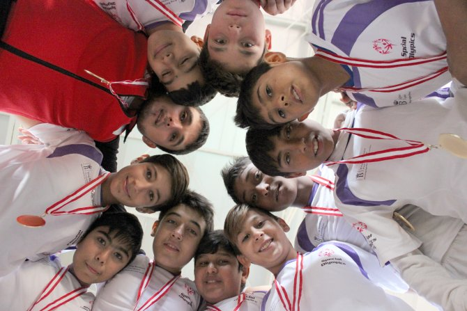 Özel Sporcular Karma Futbol Projesi kapanış turnuvası Ödemiş'te yapıldı